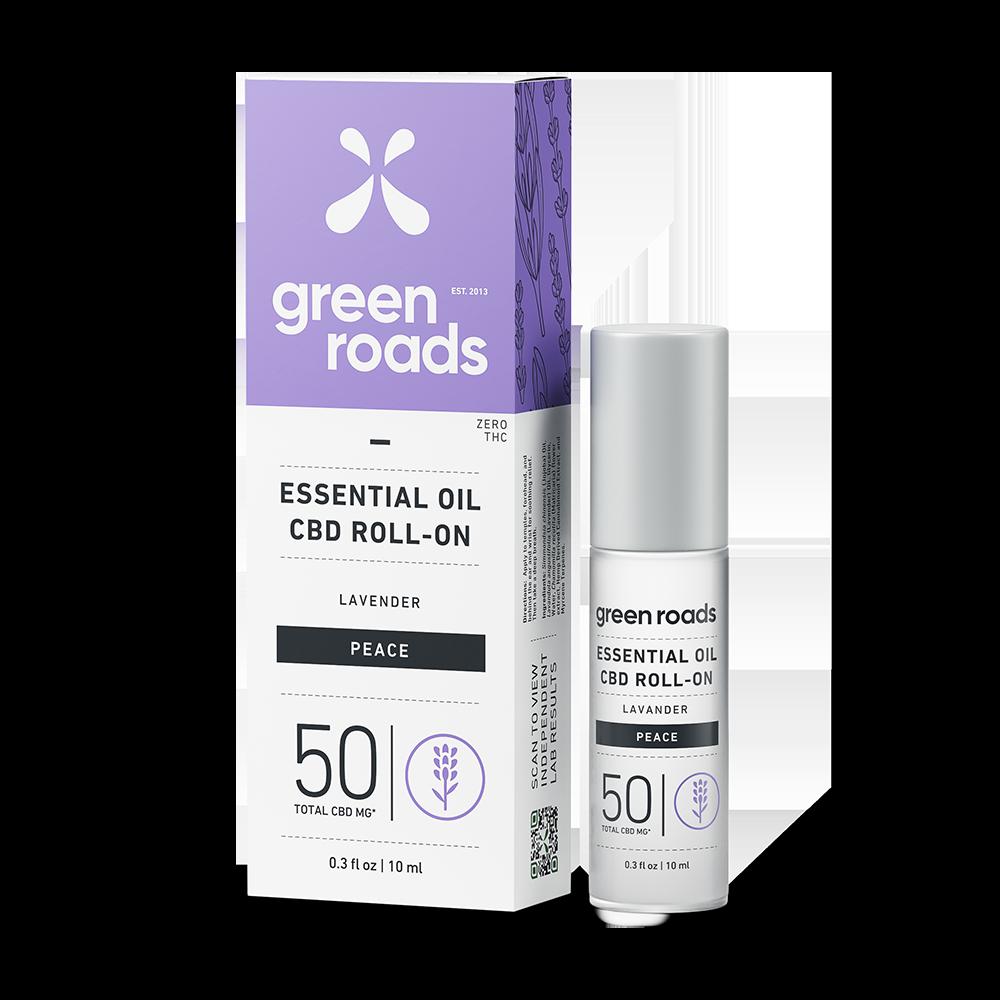 Essential Oil Roll-On - PEACE - 50mg CBD