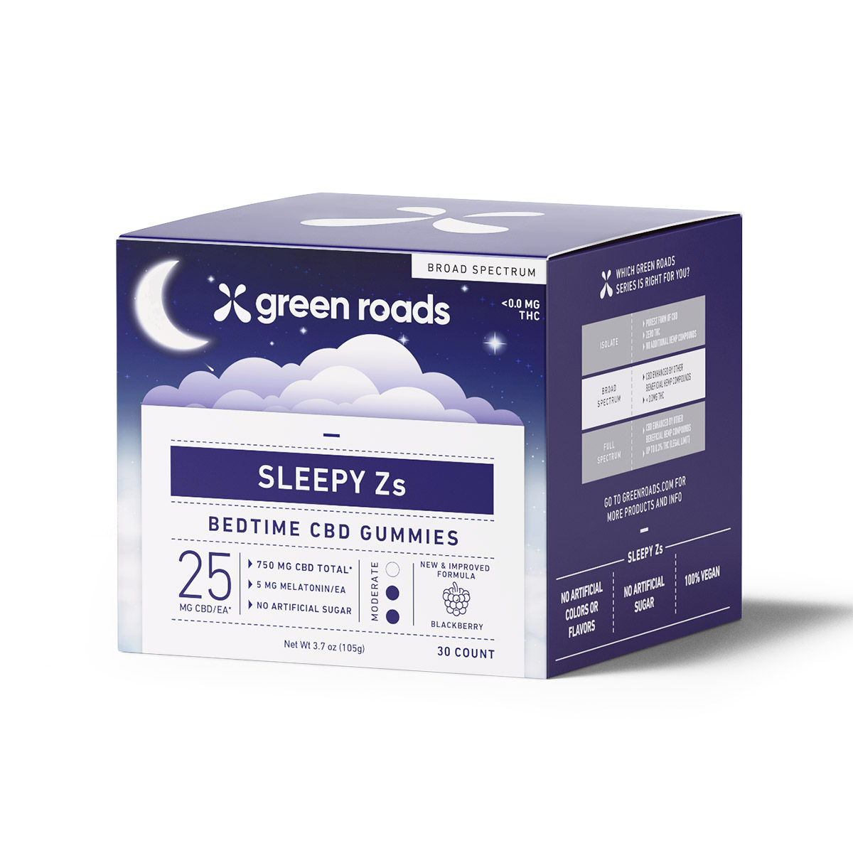 Sleepy Zs CBD Gummies (30ct) - 750mg