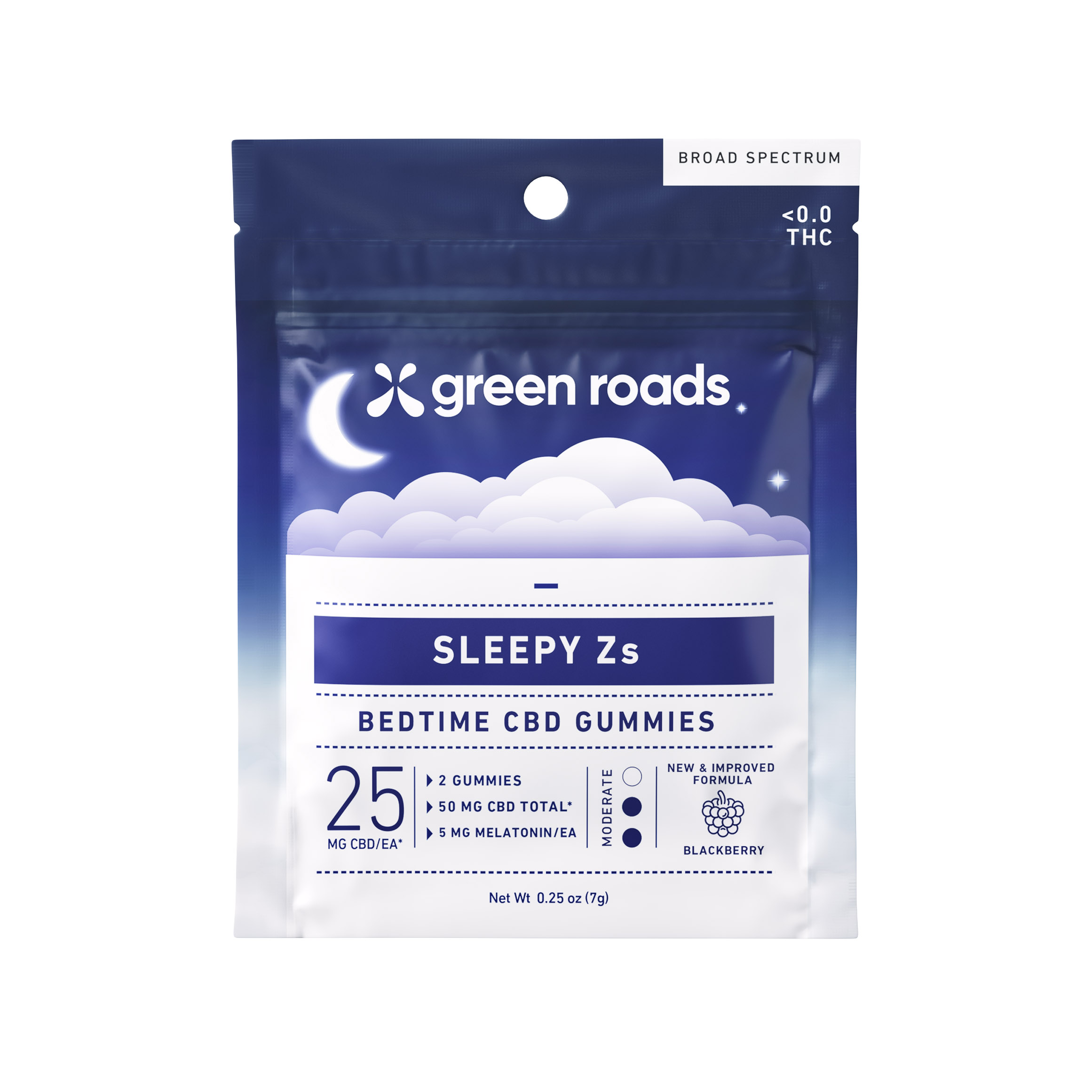 Sleepy Zs CBD Gummies (2ct) - 50mg